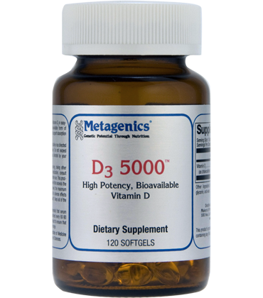 D3 5000 IU 120 softgels by Metagenics
