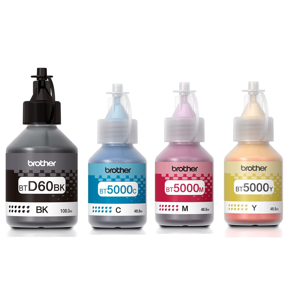 Brother Ink BT-D60BK, BT-5000C BT-5000M BT-5000Y YV.HK