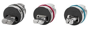 Targus ASP86RGL Defcon 3-in-1 Universal Re-settable Combo Cable Lock