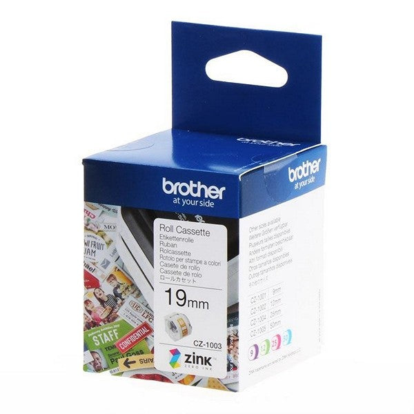 Brother CZ Color Zink™ Label Tapes for VC500W Color Label Printer - Young Vision - www.yv.com.hk