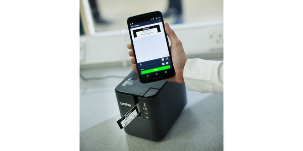 Brother PT-P900W 電腦標籤機 Label Printer (WIFI, USB, Serial, iOS/Android Mobile Apps) - Young Vision - www.yv.com.hk
