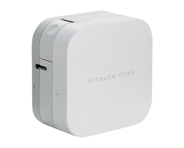 Brother PT-P300BT 藍牙標籤機 Smartphone/Tablet Bluetooth Label Printer - P-touch Cube (iOS/Android) - Young Vision - www.yv.com.hk