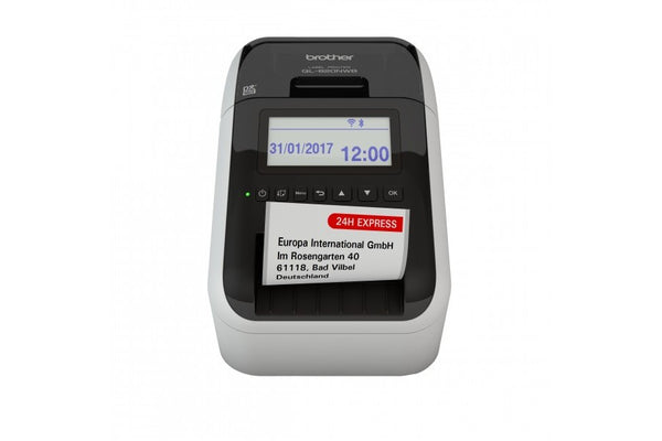 Brother QL-820NWB 專業無線標籤打印機 Professional, Ultra Flexible Label Printer with Multiple Connectivity (USB/LAN/Wifi/Bluetooth) for Smartphones / Tablets Computers / MAC / PC