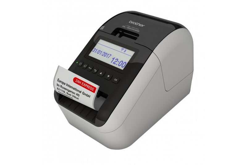 Brother QL-820NWB 專業無線標籤打印機 Professional, Ultra Flexible Label Printer with Multiple Connectivity (USB/LAN/Wifi/Bluetooth) for Smartphones / Tablets Computers / MAC / PC - Young Vision - www.yv.com.hk