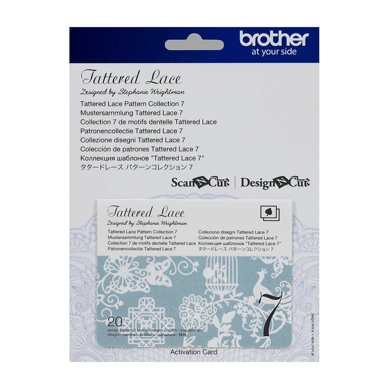 Brother ScanNCut CATTLP 復古蕾絲花樣合集 Tattered Lace Pattern Collection Packs - Young Vision - www.yv.com.hk