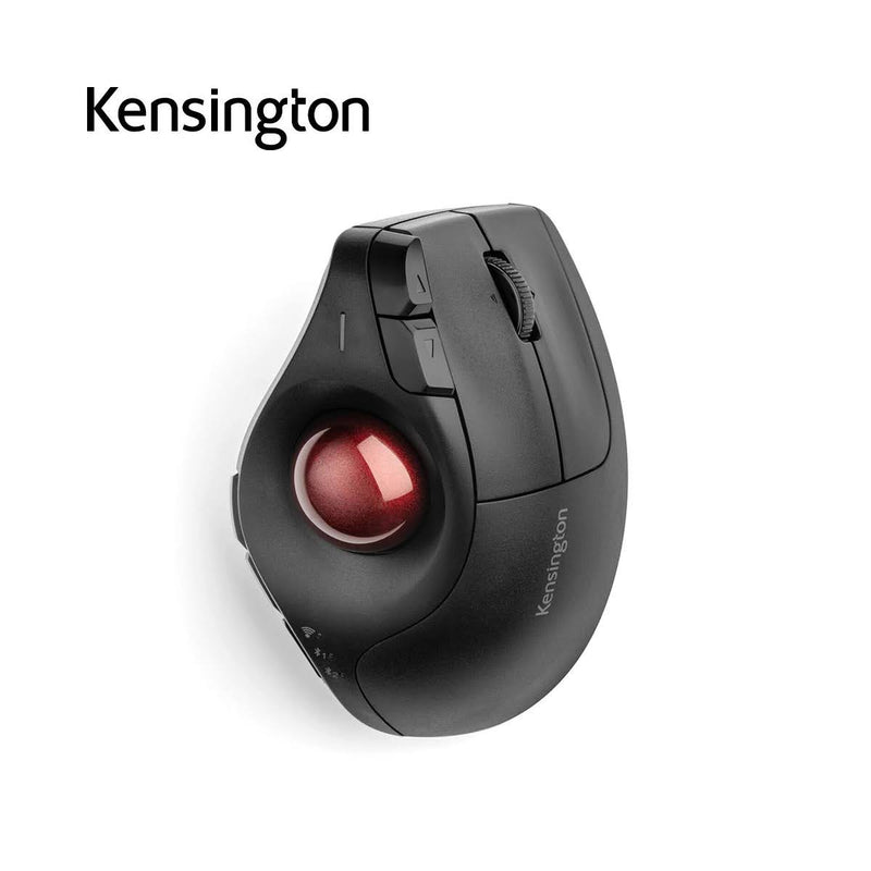 Kensington K75370WW Pro Fit® Ergo Vertical Wireless Trackball Mouse 垂直軌跡球鼠標