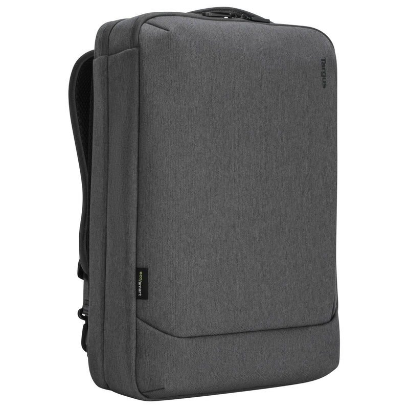 "Targus TBB58702GL 15.6"" Cypress 3-in-1 Convertible Backpack-Carry-Messenger bag with EcoSmart® (Grey) - Young Vision - www.yv.com.hk"