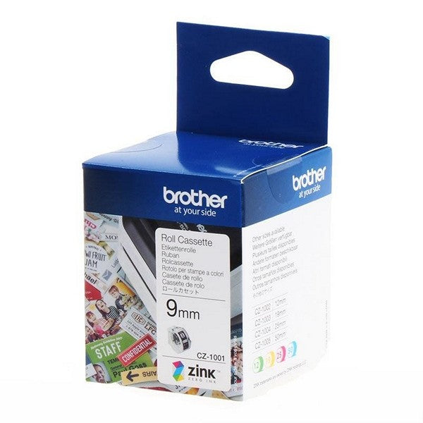 Brother CZ Color Zink Label Tapes for VC500W Color Label Printer - Young Vision - www.yv.com.hk