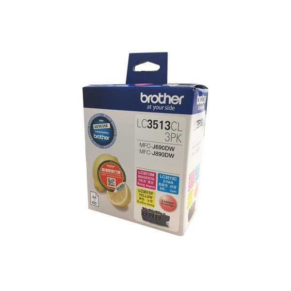 Brother LC-3511 / LC-3513 墨盒 Ink Cartridge (適用型號 DCP-J572DW, MFC-J491DW, MFCJ690DW, MFCJ890DW) - Young Vision - www.yv.com.hk