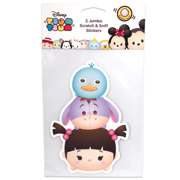 Disney Tsum Tsum – Jumbo Smickers Boo (Set of 2) - Young Vision - www.yv.com.hk