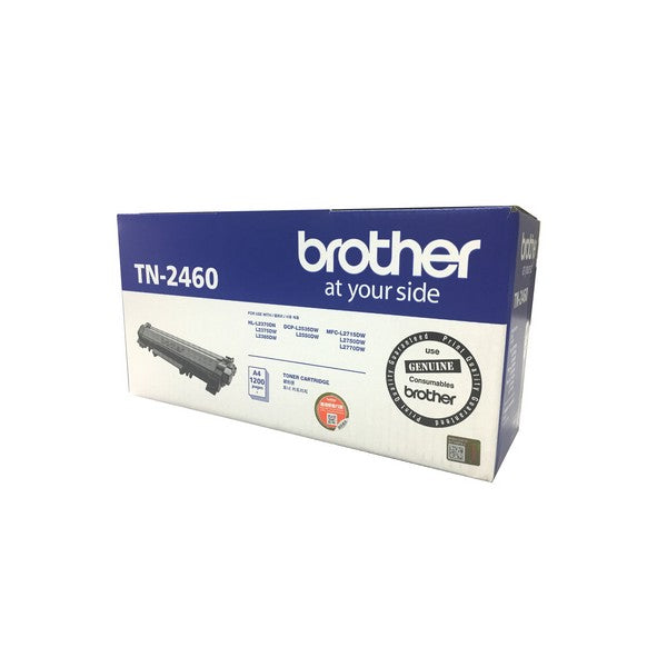 Brother TN 2460 黑色碳粉 Black Toner - Young Vision - www.yv.com.hk