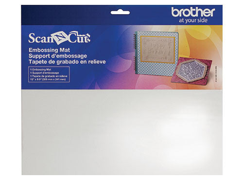 Brother ScanNCut 配件 CAEBSMAT1 壓花襯墊 Embossing Mat - Young Vision - www.yv.com.hk