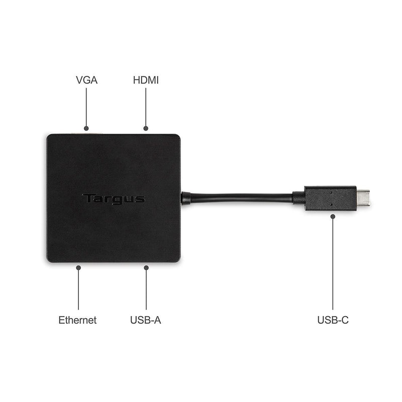 Targus DOCK411 USB-C DisplayPort™ Alt-Mode Travel Dock