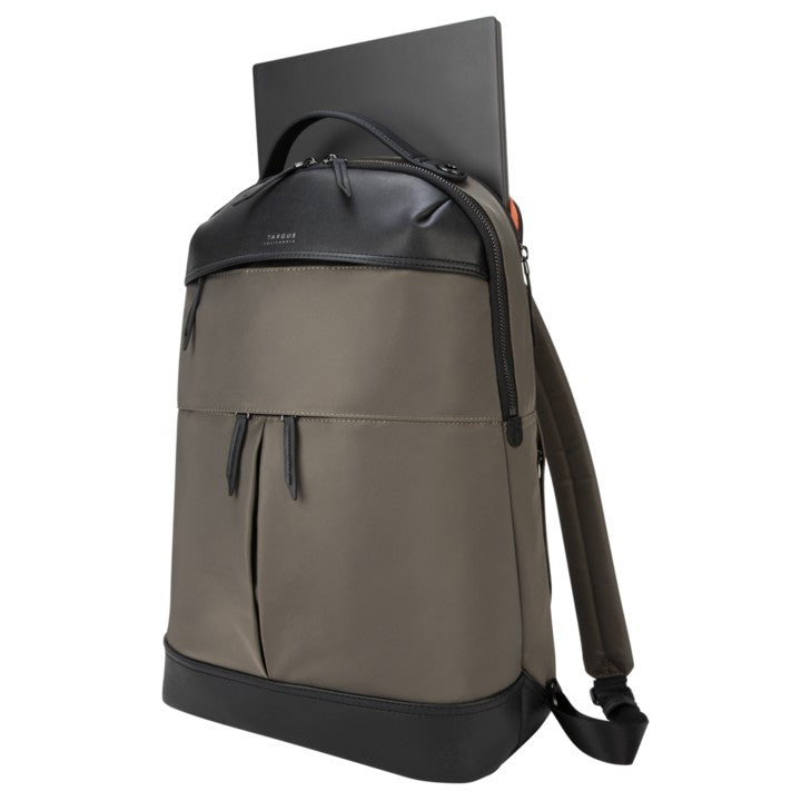 "Targus California TSB94502 15"" Newport Backpack (Olive) - Young Vision - www.yv.com.hk"