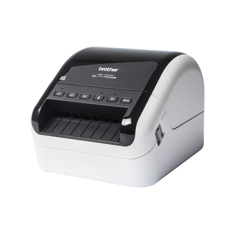Brother QL-1110NWB 專業無線標籤打印機 Professional, Ultra Flexible Label Printer with Multiple Connectivity (USB/LAN/Wifi/Bluetooth) for Smartphones / Tablets Computers / MAC / PC - Young Vision - www.yv.com.hk