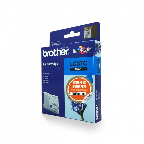 Brother LC-37 原廠墨盒 Ink Cartridge (適用型號 DCP-135C, DCP-150C, MFC-235C, MFC-260C) - Young Vision - www.yv.com.hk