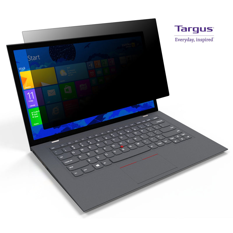 "Targus ASF14W9 螢幕防窺片 [抗藍光] (309.5x174.5mm) Privacy Screen Filter with Blue Light Cut for 14"" Notebooks (16:9) - Young Vision - www.yv.com.hk"