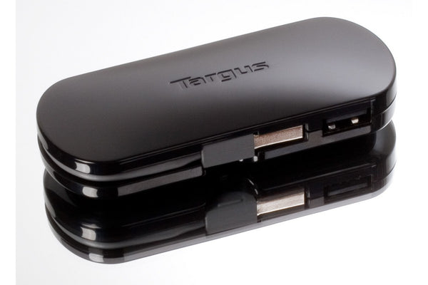 Targus ACH111 黑潮 4 Port USB2.0 Mobile Hub - Young Vision - www.yv.com.hk