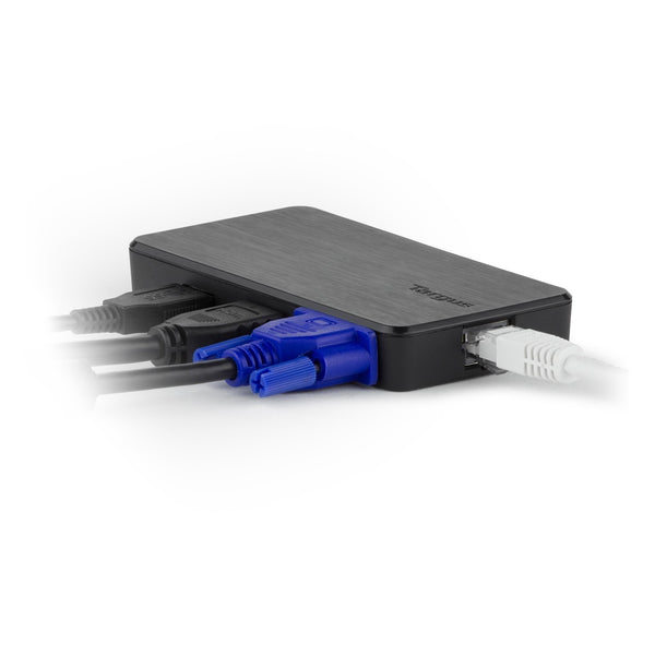 Targus DOCK110AP USB3.0 SuperSpeed™ Dual HD Video Travel Docking Station 雙視訊攜行擴充座 - Young Vision - www.yv.com.hk
