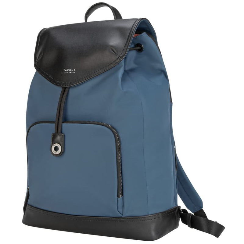 "Targus 15"" Newport Drawstring Backpack -Slate Blue"