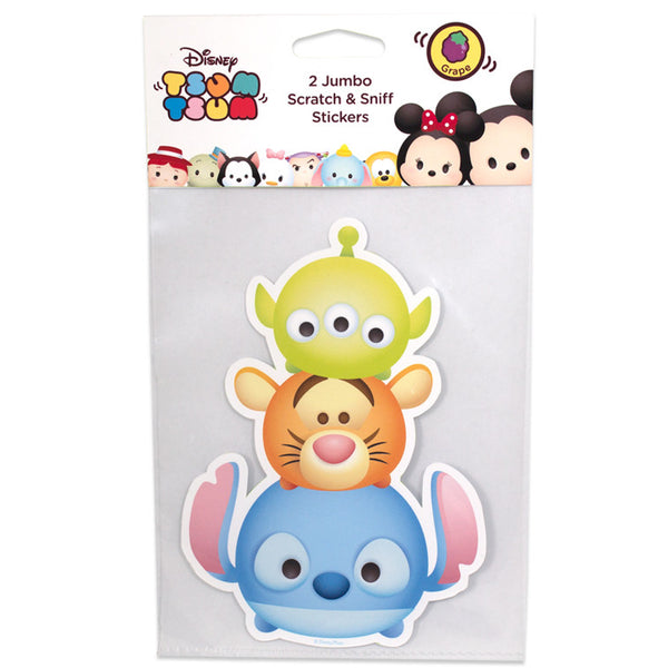 Disney Tsum Tsum – Jumbo Smickers Stitch (Set of 2) (DT3002) - Young Vision - www.yv.com.hk