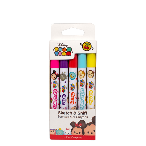 Disney Tsum Tsum: Gel Crayons 5-pack - Young Vision - www.yv.com.hk