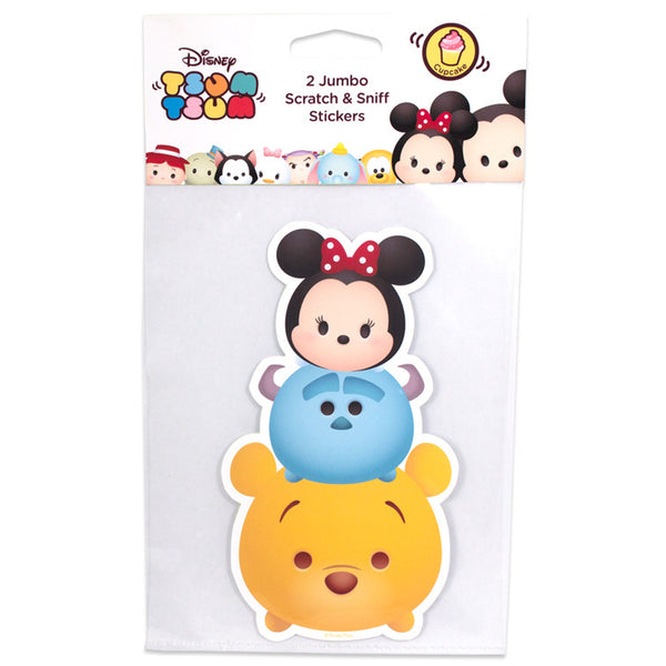 Disney Tsum Tsum – Jumbo Smickers Winnie the Pooh (Set of 2) - Young Vision - www.yv.com.hk