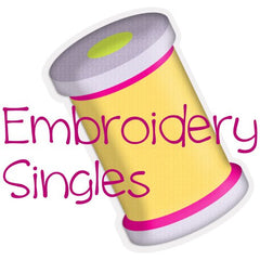 EMBROIDERY SINGLES
