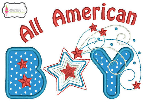 All American Boy design.