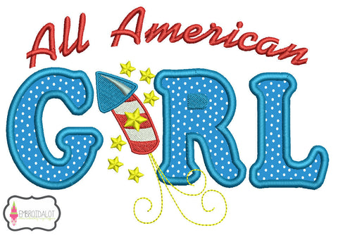 All American Girl design.