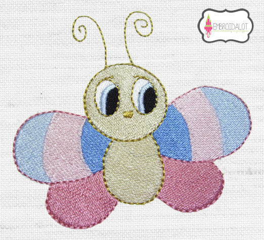 Butterfly embroidery. no.2