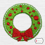 Christmas mini embroidery.