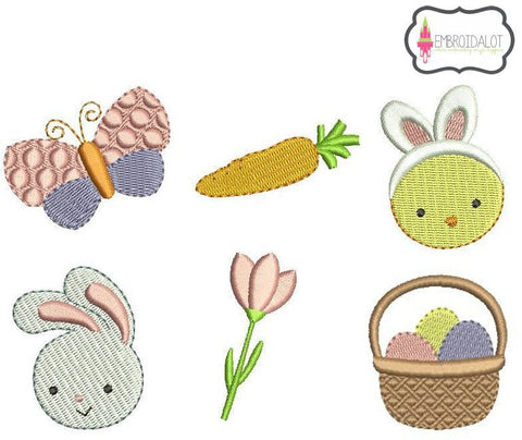 Mini easter embroidery set.