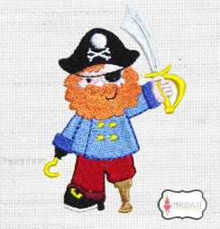 Pirate embroidery.