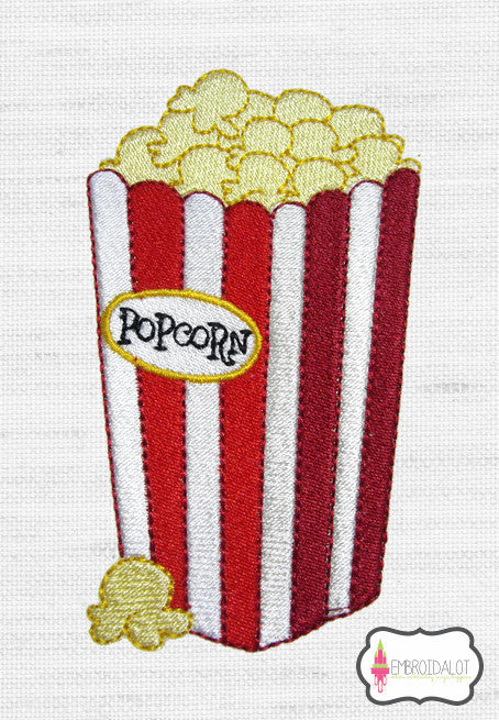 Popcorn embroidery.