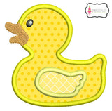 Rubber duck applique.