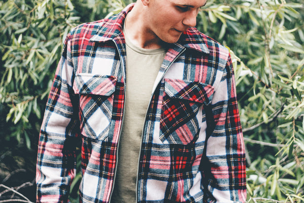 flannels back