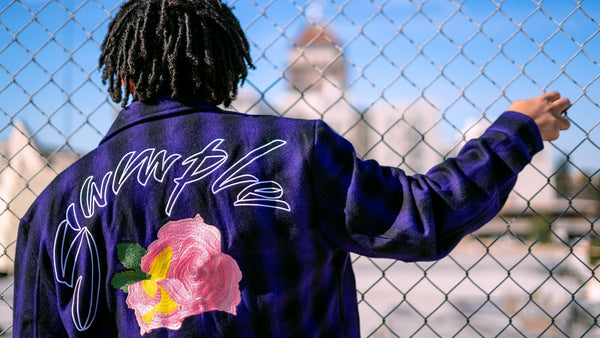 SAMPLE FLANNEL-OG PURP