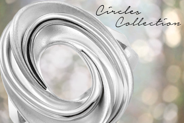 Circles, designer silver collection by Gerard McCabe in Adelaide