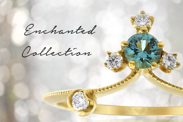 Enchanted Collection of Gem and Diamond Rings