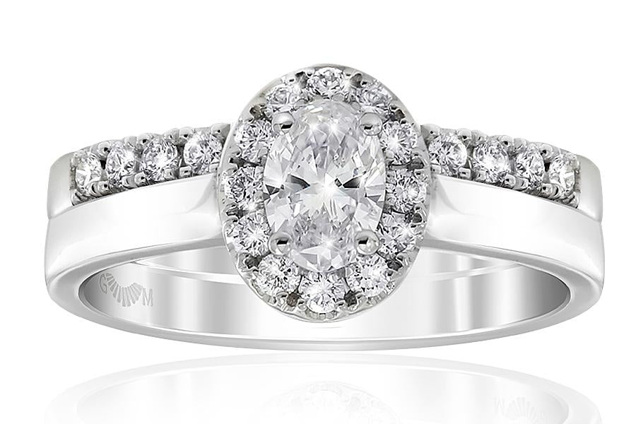Gerard McCabe Aura Classic Oval Cut Diamond Ring