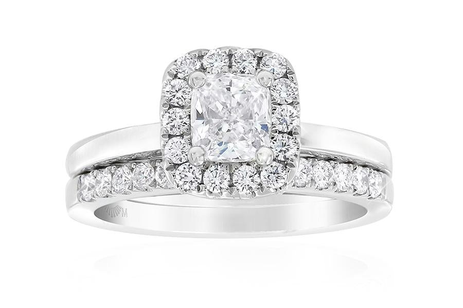 Gerard McCabe Aura Classic Cushion Cut Diamond Ring