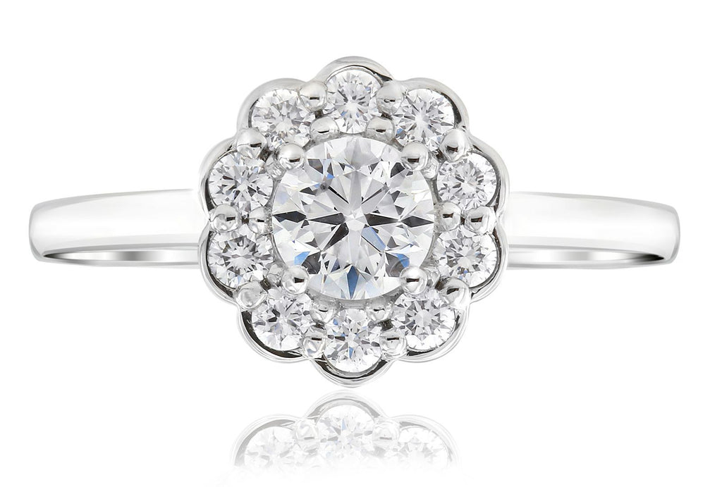 Gerard McCabe Posy Diamond Ring