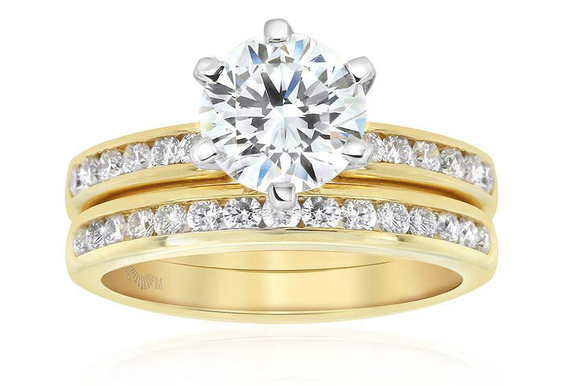 Gerard McCabe Elegance Round Diamond Ring