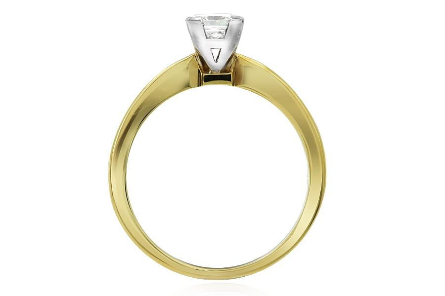 Gerard McCabe Elegance Princess Cut Diamond Ring