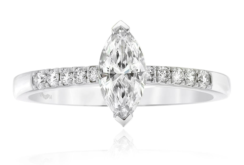 Gerard McCabe Celeste Marquise Diamond Engagement Ring