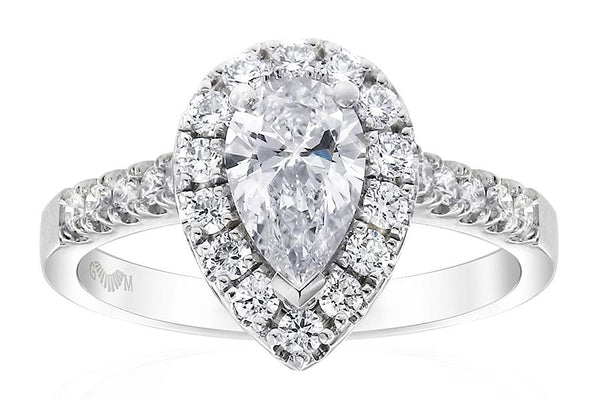 Gerard McCabe Aura Pear Cut Diamond Ring