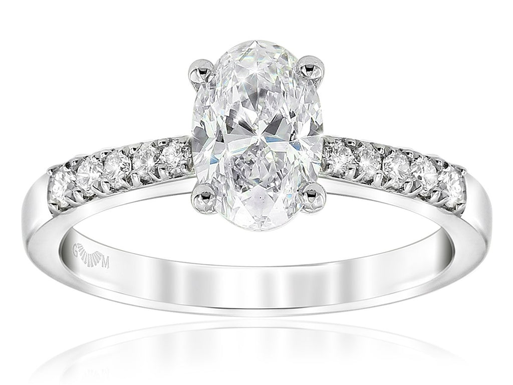 Gerard McCabe Celeste Oval Diamond Engagement Ring