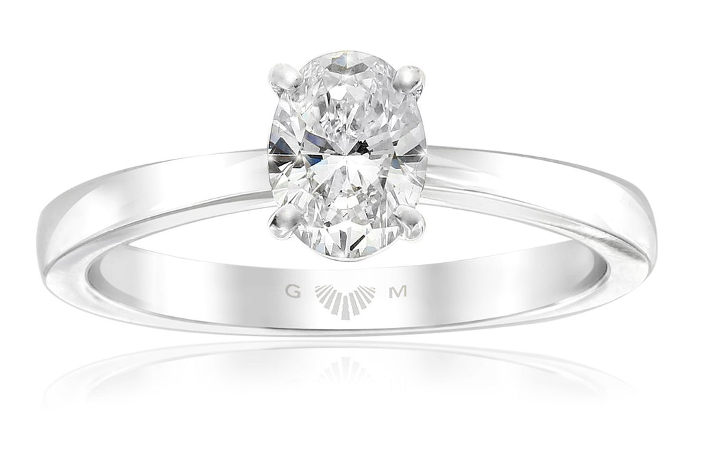Gerard McCabe Celeste Classic Oval Diamond Engagement Ring