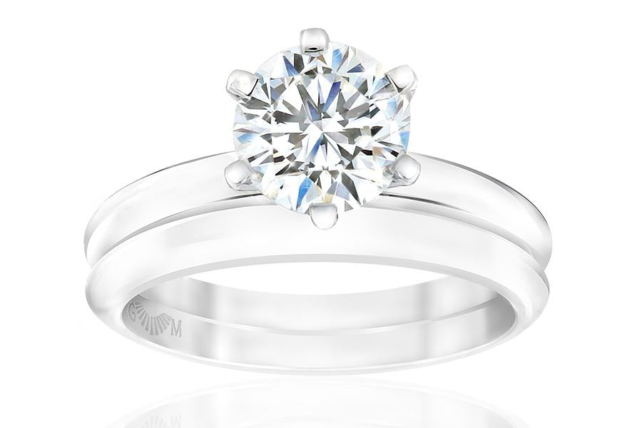 Gerard McCabe Classic Round Diamond Ring